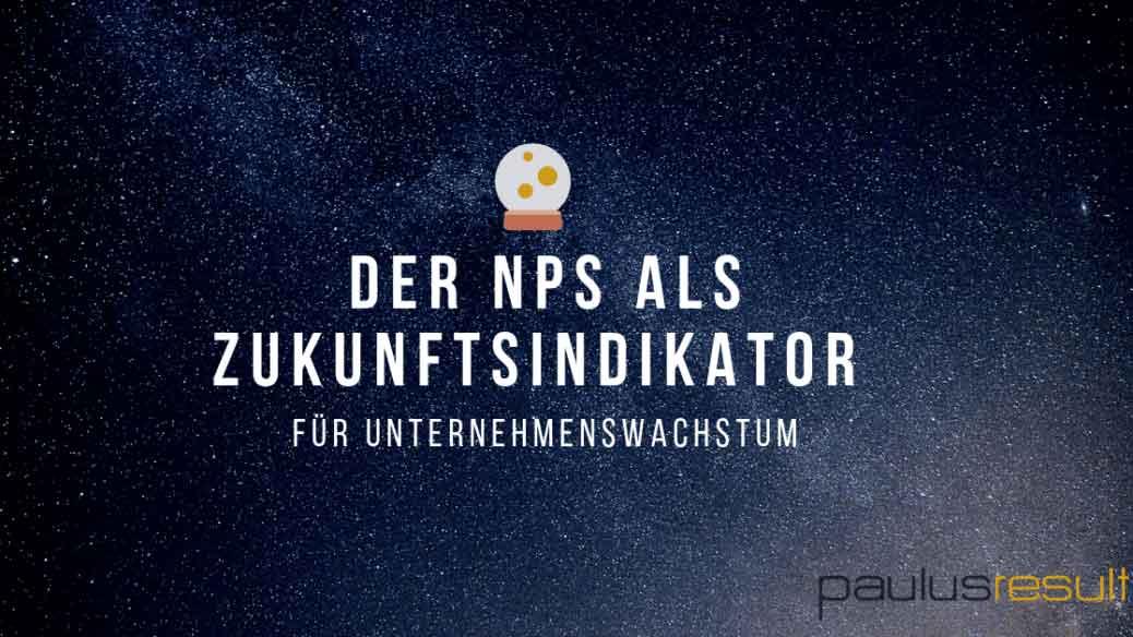 Blog: Titelbild neue Studie sagt der NPS Unternehmenswachstum voraus Himmel