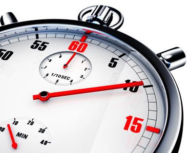 Blog - 3 unverzichtbare Software-Lösungen im Call-Center - Überlastete Mitarbeiter und hohe Ausfallzeiten - Stoppuhr