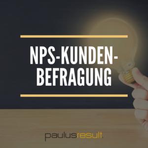 Produkt NPS-Kundenbefragung