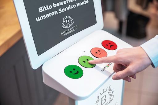 HappyOrNot Smiley Terminal Button