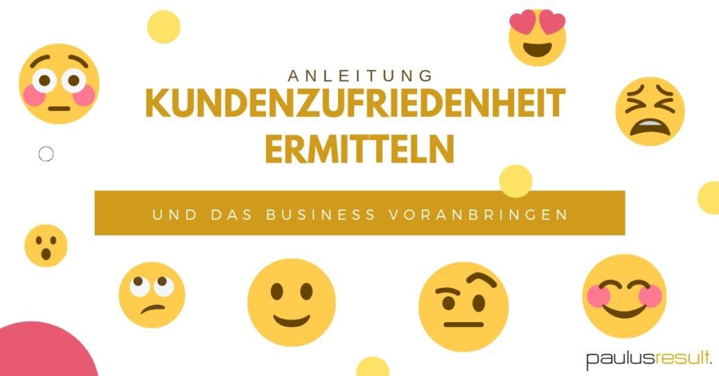 Blog: Titelbild Anleitung so ermitteln Sie die Kundenunzufriedenheit mit dem NPS und bringen ihr Business voran Emoji