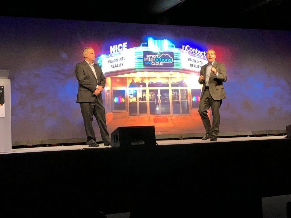 "Blog: Customer Experience London 2018 Präsentation der Lösung ""NICE InContact"""