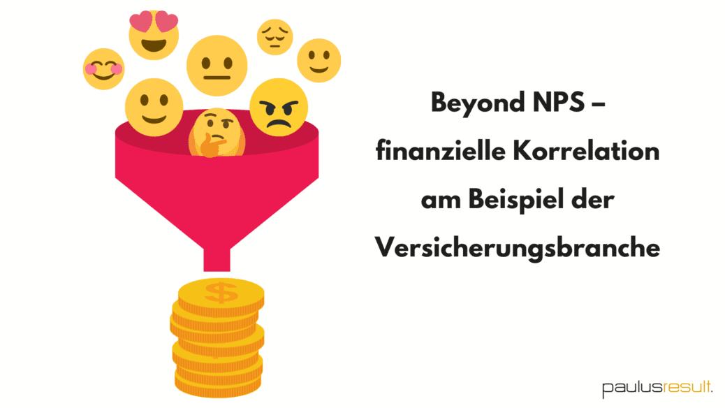 Blog: Titelbild Online Seminar Beyonds NPS Kundenbefragung in der Versicherungsbranche Emoji