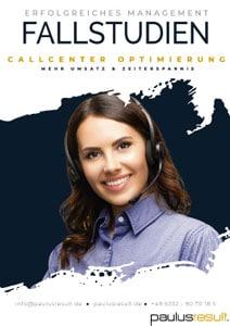 Callcenter Optimierung - Beitragsbild - Banner - Download E-Book