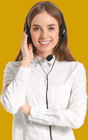 Customer Experience Beratung - Beitragsbild Beispiel für den Customer Experience-Support - Beraterin beim Support