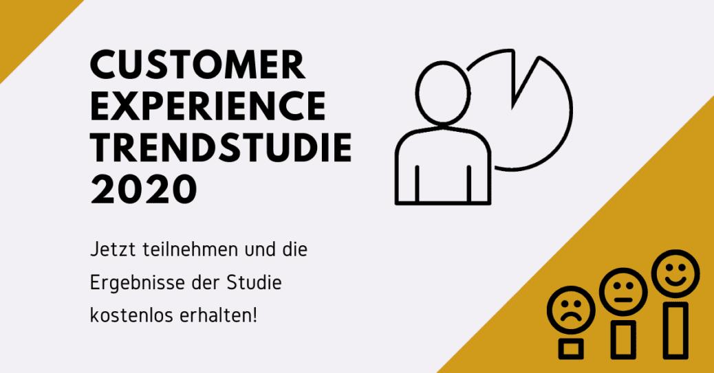 Blog: Titelbild Customer Experience Studie 2020