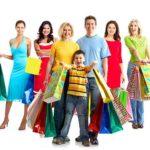 Customer Experience - Beitragsbild Das NPS Konzept - Familie beim Shoppen / Einkaufen