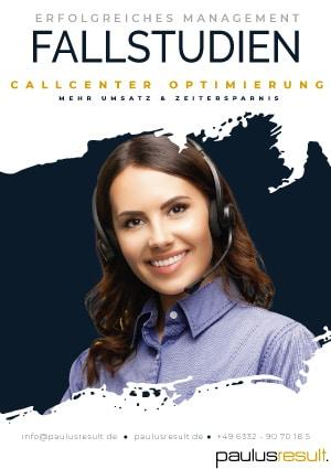 Fallstudien Callcenter Optimierung - Beitragsbild - Download E-Book