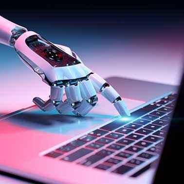 Karriere & Stellenangebote - Beitragsbild - Fachbereiche Roboterhand