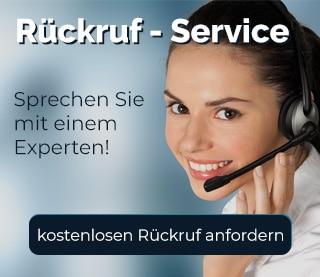 Kontakt paulusresult. – Beitragsbild Rückruf-Service - Beraterin am telefonieren