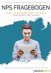 NPS Musterfragebogen - Beitragsbild - Download E-Book