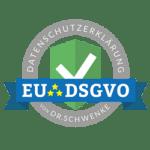 Siegel Daternschutzerklaerung - EU DSGVO