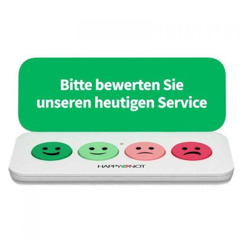 HappyOrNot® Smiley Mini - NPS Terminal Produktbild - 800 x 800