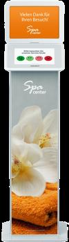 HappyOrNot® Smiley Touch™ - Touchscreen Produktbild Miete - Custom Design Essential